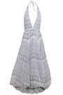 MISSONI Draped wool, cotton, and silk-blend maxi dress