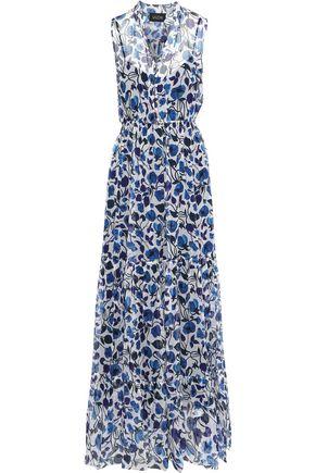 SALONI Alexia floral-print georgette maxi dress