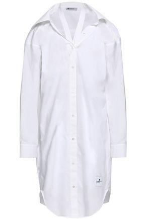 ALEXANDERWANG.T Cutout cotton-poplin shirtdress