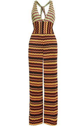 90ce54be9c MISSONI Metallic crochet-knit jumpsuit