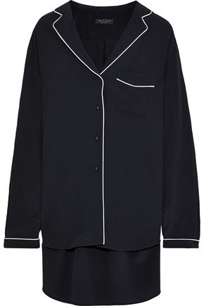 RAG & BONE Alyse silk crepe de chine shirt