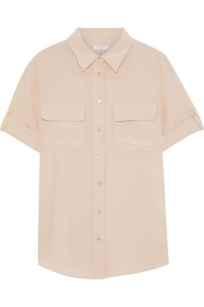 EQUIPMENT Washed-silk shirt