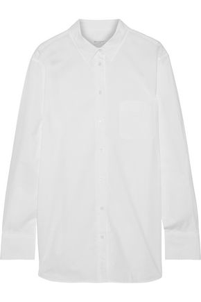 EQUIPMENT Cotton-poplin shirt