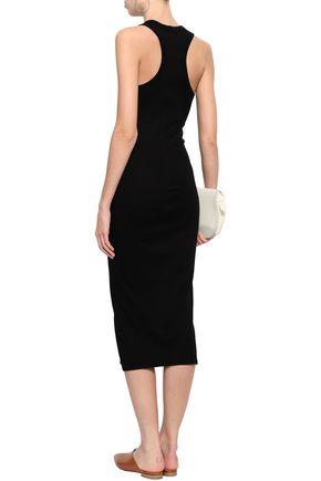 ENZA COSTA Cotton-jersey midi dress