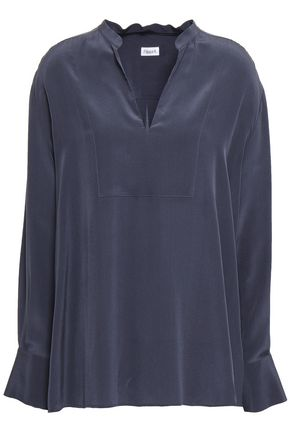 FILIPPA K Silk-crepe blouse