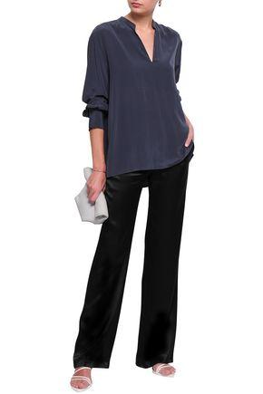 FILIPPA K Silk-crepe blouse