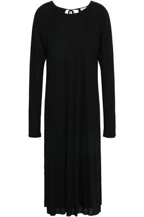 FILIPPA K Open-back slub jersey midi dress