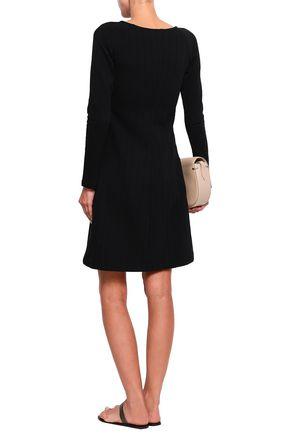 FILIPPA K Ribbed cotton-blend mini dress