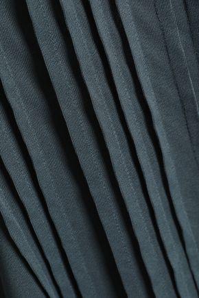 FILIPPA K Pintucked jersey top