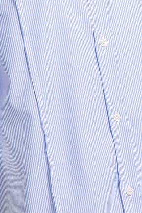 FILIPPA K Striped cotton-poplin shirt dress