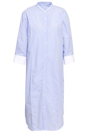 FILIPPA K Striped cotton-poplin shirt dress