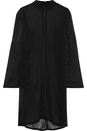 RICK OWENS Moody silk-voile tunic