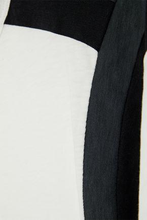 RAG & BONE Paneled Pima cotton-jersey T-shirt