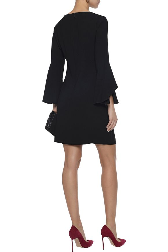 dc5c6a2261b8 Dori ruffled crepe mini dress | ELIE TAHARI | Sale up to 70% off ...