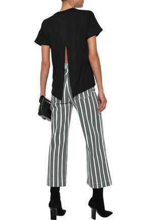 RAG & BONE Kat split-back French stretch-modal terry T-shirt