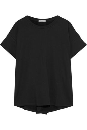 RAG & BONE Kat split-back French stretch-modal terry T-shirt