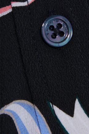 EQUIPMENT Simone printed washed-silk maxi shirt dress