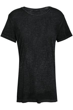 IRO Mélange slub cotton-blend jersey T-shirt