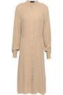 THEORY Effortless silk shirt dress