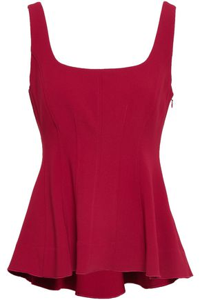 THEORY Crepe peplum top