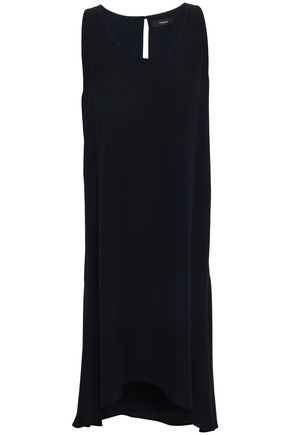THEORY Adlerdale silk-crepe dress