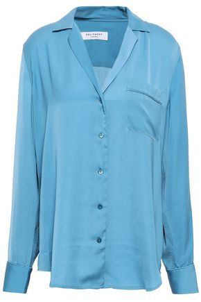 EQUIPMENT Kiera washed crepe de chine shirt