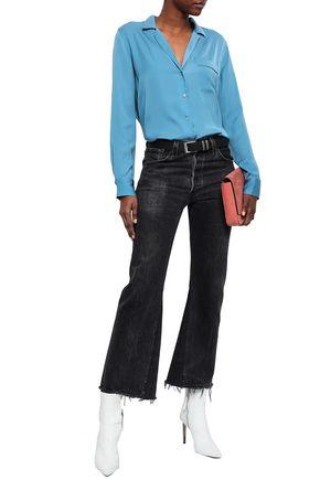 EQUIPMENT Kiera crepe de chine shirt