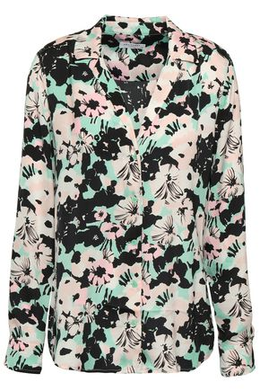 EQUIPMENT Adalyn floral-print crepe de chine shirt