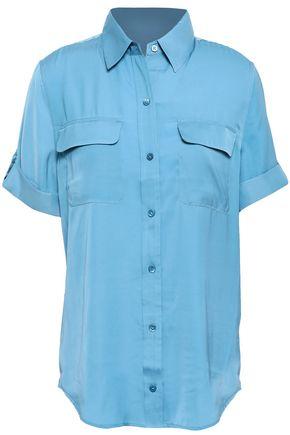 EQUIPMENT Slim Signature crepe de chine shirt