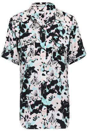 EQUIPMENT Slim Signature floral-print crepe de chine shirt