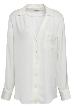 EQUIPMENT Crepe de chine shirt