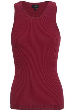 THEORY Ribbed stretch-knit tank
