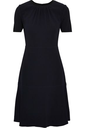 ELIE TAHARI Caliana gathered crepe dress