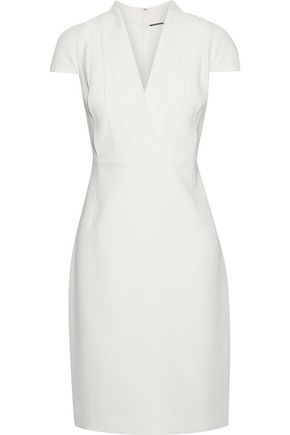 ELIE TAHARI Gerarda pleated crepe dress