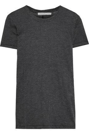 RAG & BONE Dawson metallic jersey T-shirt