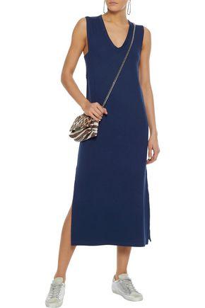RAG & BONE Phoenix French stretch-modal terry midi dress
