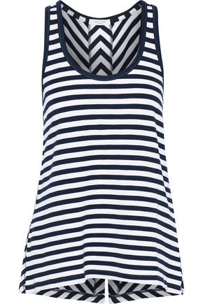 RAG & BONE Kat split-back French stretch-modal terry tank