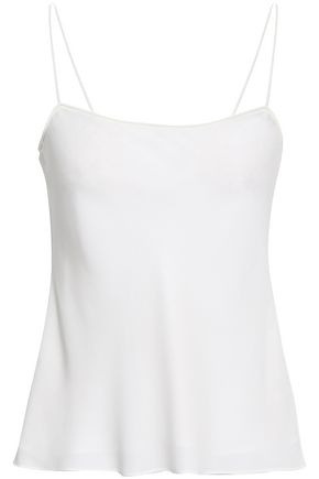 THEORY Silk-crepe camisole