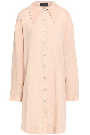 JOSEPH Woven linen shirt dress
