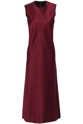 JOSEPH Sutton satin midi dress