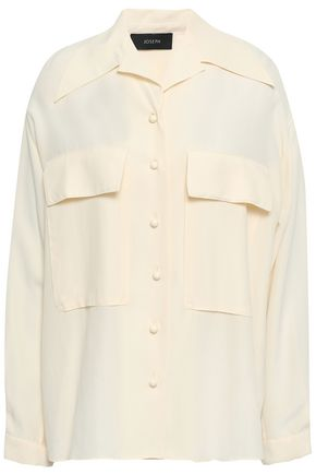 JOSEPH Myer washed-silk shirt