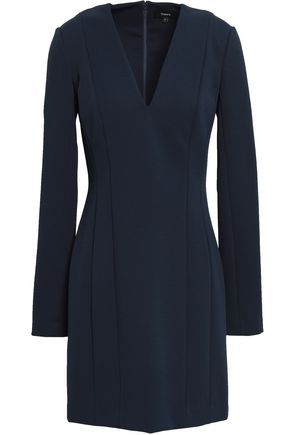 THEORY Stretch-ponte mini dress
