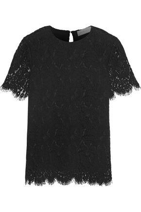 VICTORIA BECKHAM Wool-blend lace top