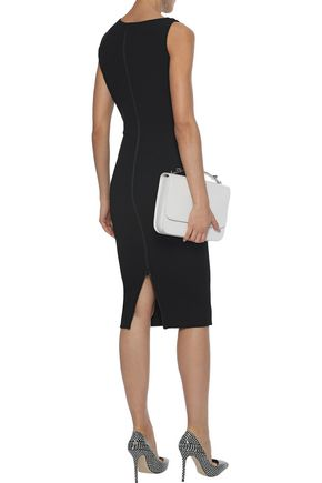 VICTORIA BECKHAM Stretch-crepe dress