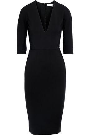 VICTORIA BECKHAM Cotton-blend cady dress