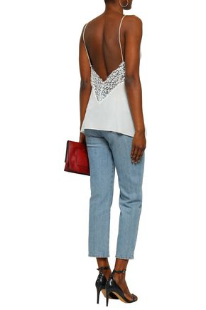 IRO Lace and cady camisole