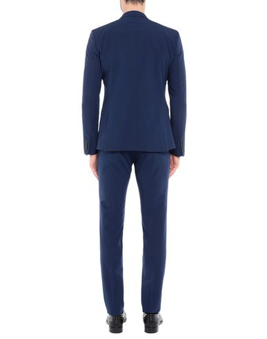 Фото 2 - Мужской костюм SIMON PEET синего цвета