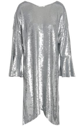 IRO Napa sequined cotton-jersey dress