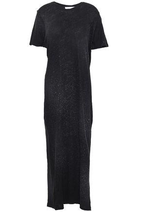 IRO Lys slub linen-jersey maxi dress
