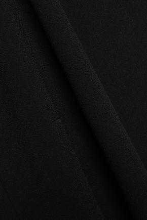 IRO Away asymmetric crepe mini dress